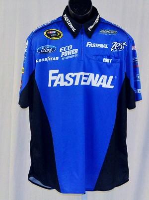 Ricky Stenhouse Fastenal Race Used 2014 Nascar Pit Crew Shirt Large Dirty Ebay