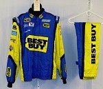 Ricky Stenhouse Best Buy Race Used SPARCO NASCAR Racing Suit #3740 44/32/31