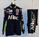 Carl Edwards Aflac Race Used Simpson NASCAR Racing Suit #3743 50/38/34