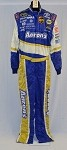 Simpson Aarons Race Used NASCAR Racing Suit #3766 44/34/34