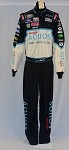 Carl Edwards Aquos Simpson Race Used NASCAR DRIVER Suit #3772 42/32/32