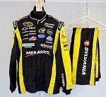 Paul Menard Sparco Race Used NASCAR Racing Suit #3783 50/36/33