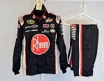 Kevin Harvick Rheem Sparco Race Used NASCAR Racing Suit #3786 44/38/32
