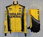 Dollar General Impact Race Used NASCAR Racing Suit #3929 44/32/30