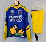 Camping World Impact Race Used NASCAR Racing Suit #3932 56/42/30