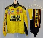 Dollar General Impact Race Used NASCAR Racing Suit #3933 52/44/30