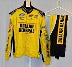 Dollar General Impact Race Used NASCAR Racing Suit #3934 54/36/32