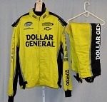 Dollar General Impact Race Used NASCAR Racing Suit #3936 58/44/28