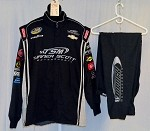 Turner Motorsports Simpson Race Used 3pc NASCAR Racing Suit #3942 52/40/31