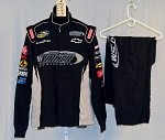 Turner Motorsports Simpson Race Used 3pc NASCAR Racing Suit #3951 44/36/31