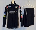 Turner Motorsports Simpson Race Used 3pc NASCAR Racing Suit #3957 44/36/33