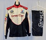 Great Clips Impact Race Used NASCAR Firesuit #3958 42/30/31