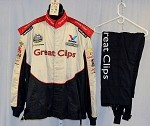 Great Clips Impact Race Used NASCAR Firesuit #3959 52/38/27