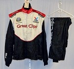 Great Clips Impact Race Used NASCAR Firesuit #3960 50/40/29