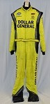 Dollar General Impact 1pc Race Used NASCAR Fire Suit #3965 50/42/35
