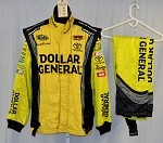 Dollar General Impact Race Used NASCAR Racing Suit #3968 46/30/30