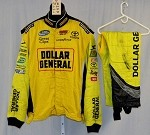 Dollar General Impact Race Used NASCAR Firesuit #3970 52/40/29