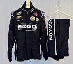 Kevin Harvick EZ-GO Used Sparco NASCAR 2pc Firesuit #4092 48/38/34