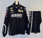 Kevin Harvick EZ-GO Used Sparco NASCAR 2pc Firesuit #4093 50/38/32