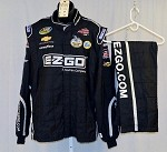 Kevin Harvick EZ-GO Used Sparco NASCAR 2pc Firesuit #4094 52/38/32