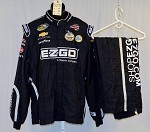 Kevin Harvick EZ-GO Used Sparco NASCAR 2pc Firesuit #4095 52/38/32