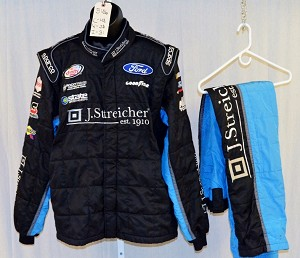 Jeb Burton Richard Petty Motorsports Sparco SFI-5 Race Used NASCAR Fire Suit #5186 48/38/31