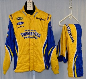 Richard Petty Motorsports Twisted Tea Sparco SFI-5 Race Used NASCAR Fire Suit #5192 48/40/31