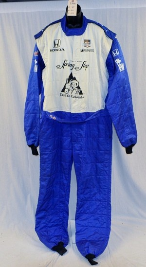 Cafe Columbia Hinchman SFI-5 Fire Indy Car Fire Suit #5338 60/50/34