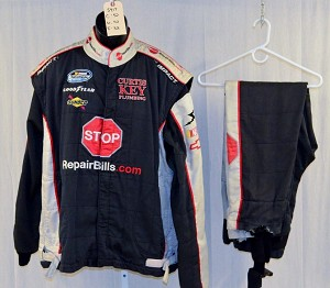 Impact SFI-5 NOMEX 3-Pc Race Used NASCAR Fire Suit #5417 52/42/32