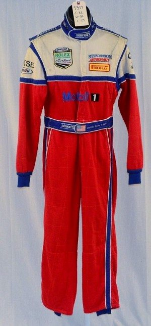 IMSA Stand 21 Mobil 1 Race Used Dominic Cicero DRIVER SUIT. FIA NOMEX. #5517 36/30/27