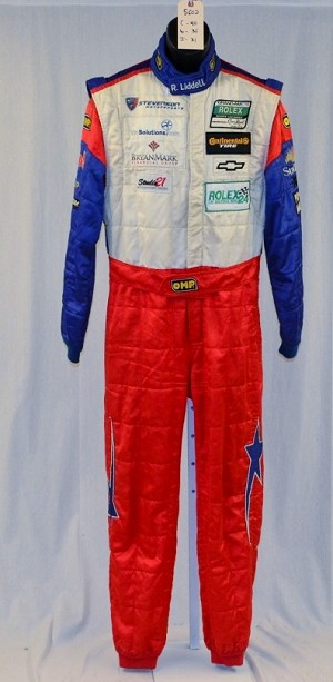OMP FIA rated NOMEX IMSA ROLEX Racing DRIVER Worn Suit. #5602 40/36/31