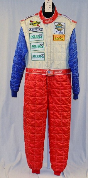 John Stevenson IMSA Rolex Stand 21 OWNERS DRIVER SUIT FIA Rated #5615 44/38/31