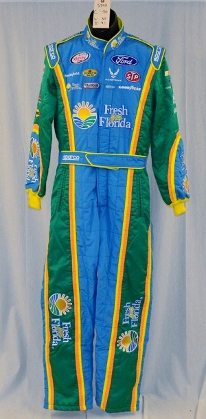 Almirola Petty Fresh From Florida Race Used SFI-5 NASCAR Suit #5742 40/32/31