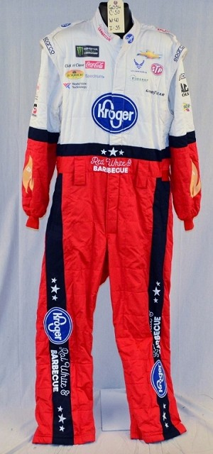 Bubba Wallace Kroger Monster 2018 Race Used NASCAR Fire Suit #6034 c50/w40/i33