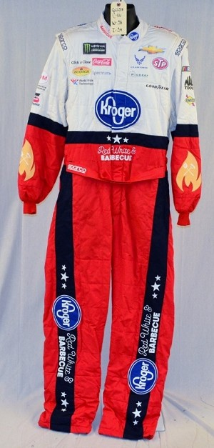 Bubba Wallace Kroger Monster 2018 Race Used NASCAR Fire Suit #6037 c44/w38/i34