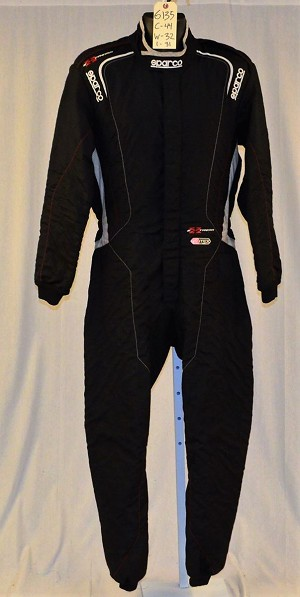 Sparco EXTREMA FIA Rated Racing Suit. Used. Super lightweight! #6135 c44/w32/i31