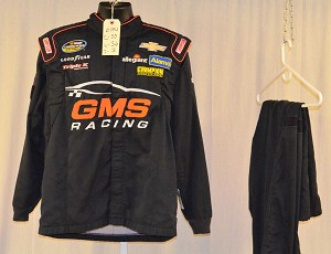 GMS Racing Simpson SFI-5 Chevy Race Used NASCAR Suit #6174 c50/w36/i31