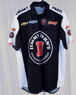 2015 kevin harvick jimmy johns nascar pit crew shirt new for Kevin harvick pit shirt