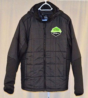 Tequila Patron ESM IMSA Down Filled Winter Coat. SIZE MEDIUM