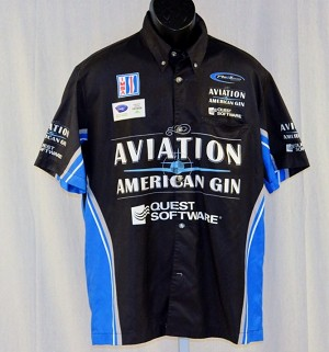 IMSA PR1 Aviation American Gin. #M Race Used Pit Crew Shirt