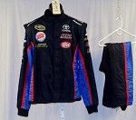 BK Racing Impact SFI-5 Race Used NASCAR Fire Suit #4634 46/36/32