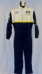 NASCAR Busch Series Official Fire suit Multilayer NOMEX NO SFI #4995 44/32/24