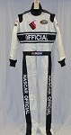 NASCAR Busch Series Official Fire suit Multilayer NOMEX NO SFI NEW!! #4998 44/32/32