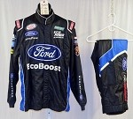 Bubba Wallace Ford Ecoboost Simpson SFI-5 Race Used NASCAR Fire Suit #5054 46/34/30
