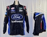 Bubba Wallace Ford Ecoboost Simpson SFI-5 Race Used NASCAR Fire Suit #5055 42/32/28