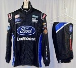 Bubba Wallace Ford Ecoboost Simpson SFI-5 Race Used NASCAR Fire Suit #5056 50/40/31