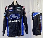 Bubba Wallace Ford Ecoboost Simpson SFI-5 Race Used NASCAR Fire Suit #5060 44/34/30