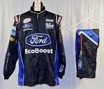 Bubba Wallace Ford Ecoboost Simpson SFI-5 Race Used NASCAR Fire Suit #5062 48/34/30
