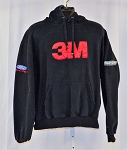 Greg Biffle Roush 3M Race Used NASCAR Team Hoodie. SIZE LARGE