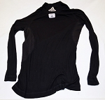 Adidas FIA race used NOMEX FIA Black Top SIZE Medium